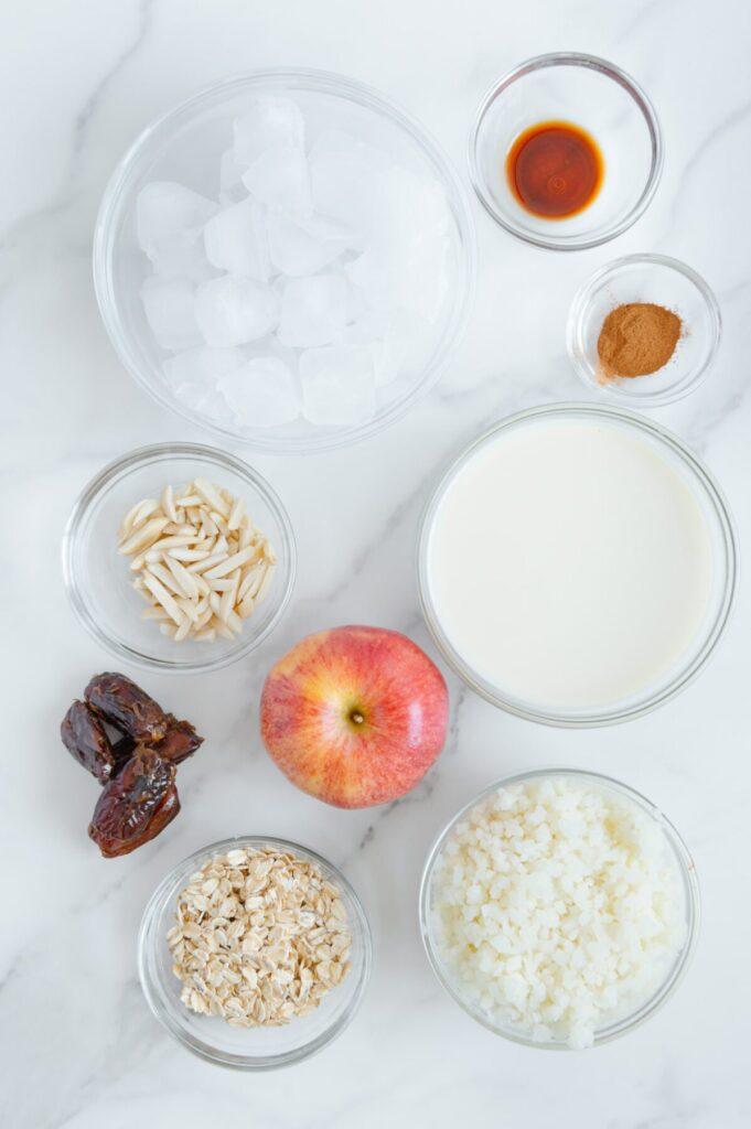 Apple Pie Smoothie Ingredients