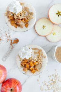 Apple Pie Flavored Smoothie