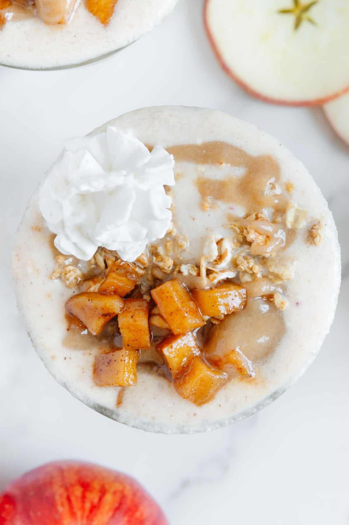 Vegan Apple Pie Smoothie
