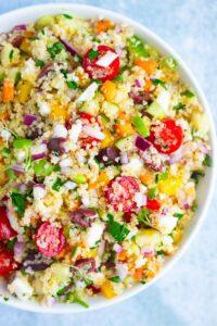Vegan Mediterranean Salad