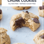 Healthy Chocolate Chunk Cookies