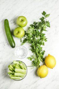 Blender Green Juice Ingredients