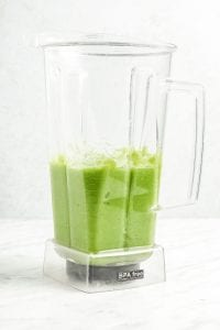 Blender Green Juice in Blender