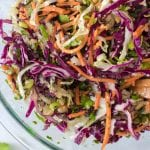 Protein-Packed Slaw with Cilantro and Lime (No Mayo!)