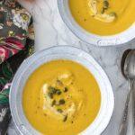Easy Blender Pumpkin Soup
