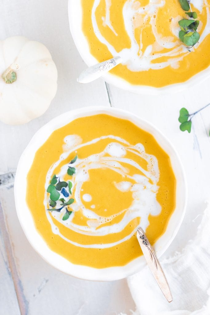 The Best Pumpkin Soup Recipe