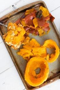 Seeds Skin and Pumpkin Flesh