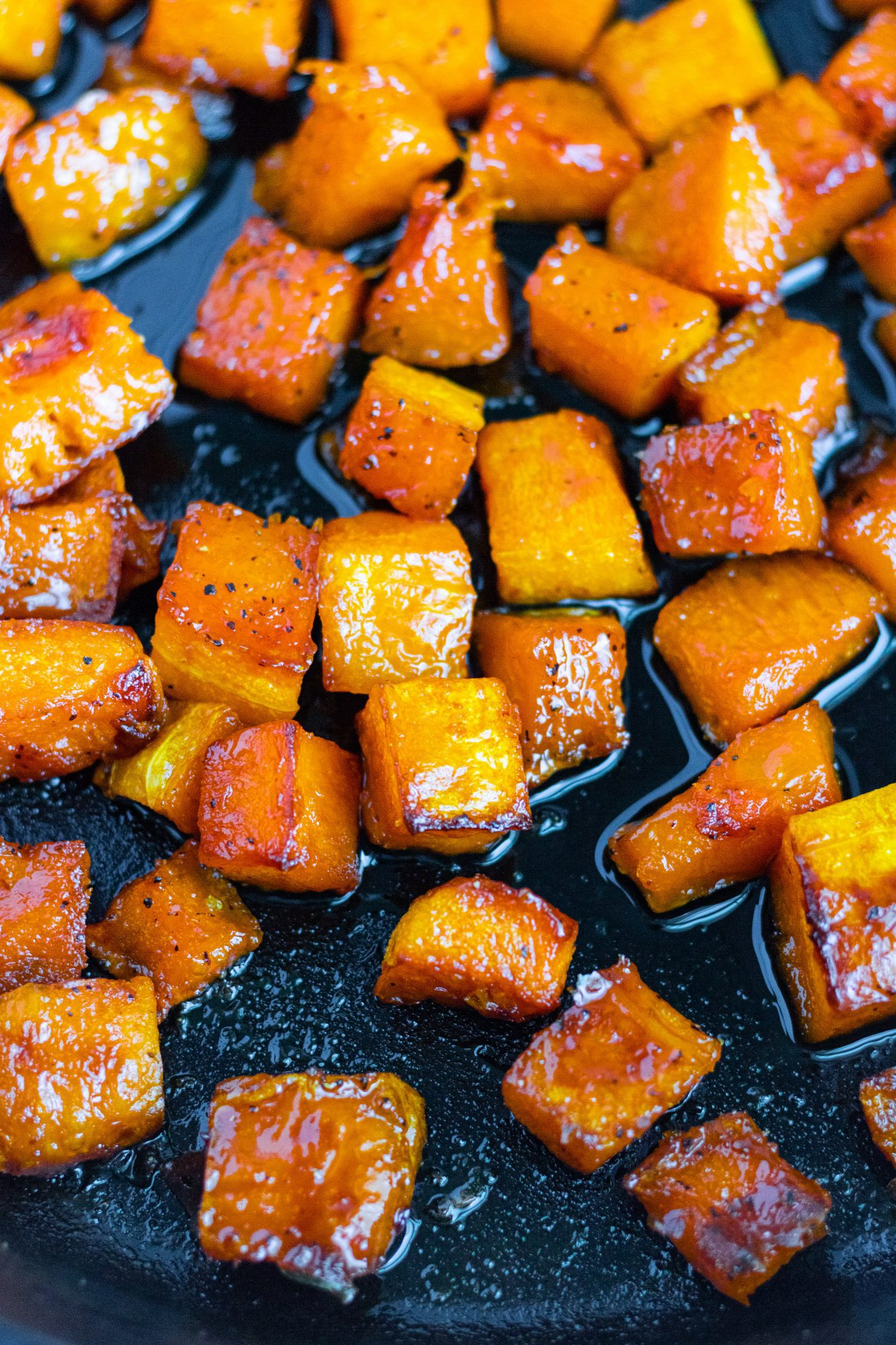Maple Candied Butternut Squash