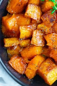 Vegan Roasted Butternut Squash