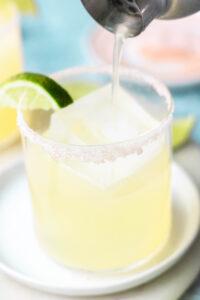 Classic Refined Sugar-Free Margarita