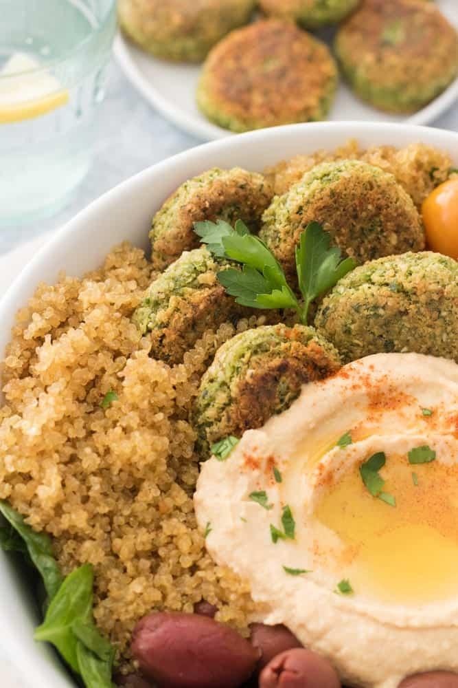 Falafel Quinoa Bowl