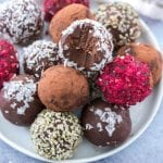 Vegan Chocolate Avocado Truffles