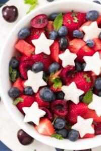 Fruit Salad July 4th post