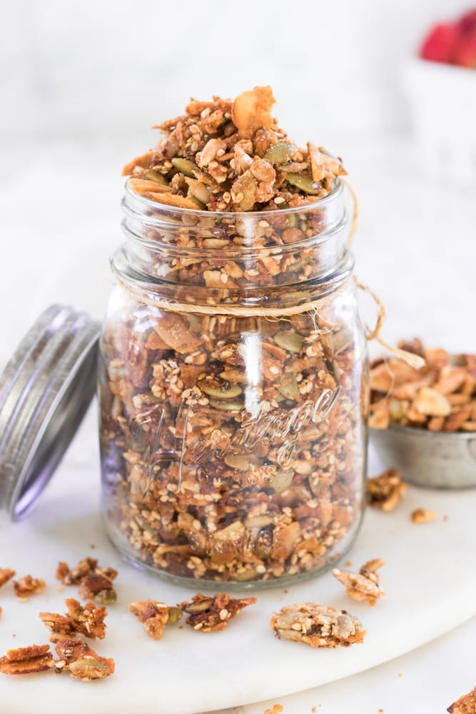 Easy Grain-Free Granola