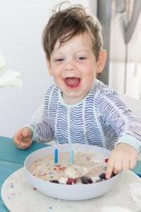 Healthy Birthday Cake Smoothie
