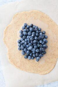 Vegan Blueberry Galette Grain-Free Gluten-Free
