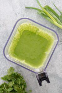 Creamy Garlic Lime CIlantro Sauce