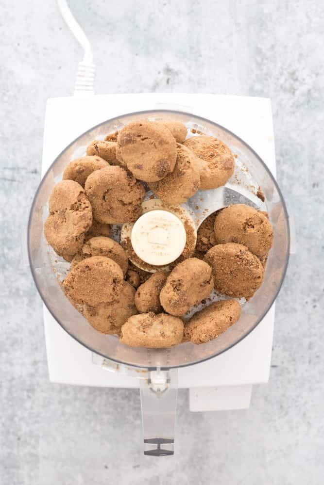 Bucks Natural Cookies in Food Processor