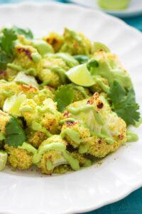 Crispy Cauliflower Poppers