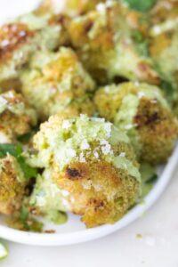 Vegan Crispy Cauliflower Appetizer