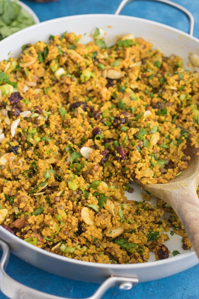 One-Pot Curried Quinoa