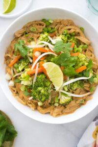 Noodles Indonesian Saute