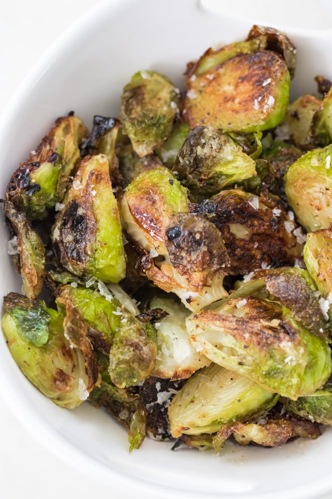 The Crispiest Brussels Sprouts
