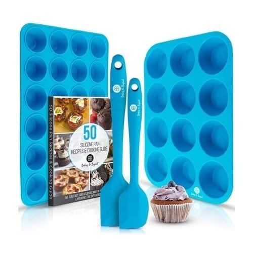 Baking & Beyond Premium Silicone Muffin Pan