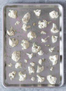 Before Photo of Roasted Cauliflower