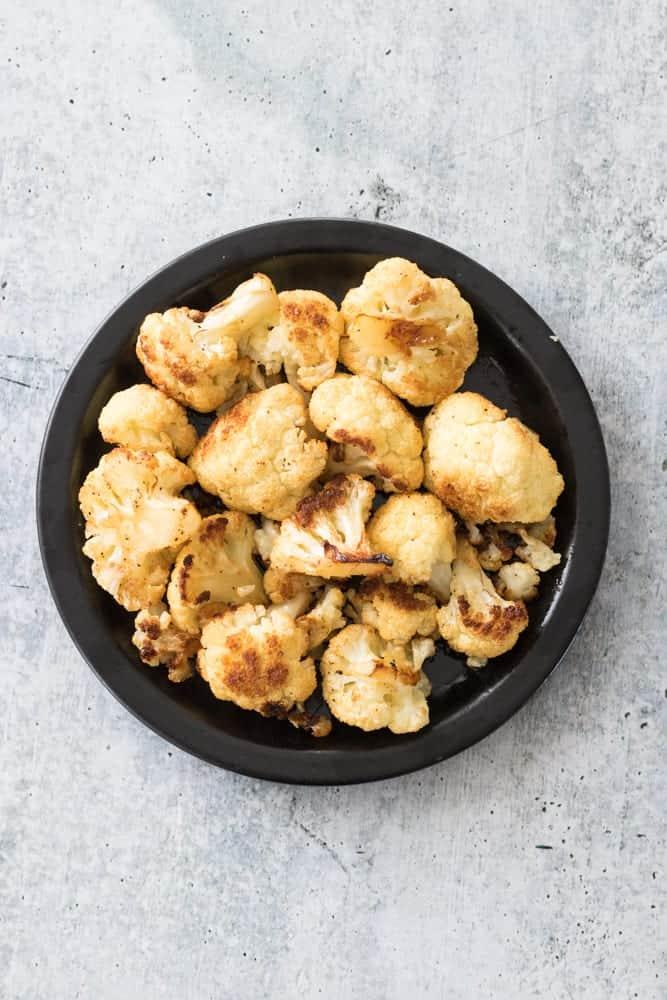 Roasted Cauliflower PLated