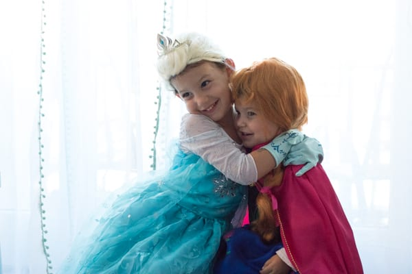 Elsa and Anna Costumes