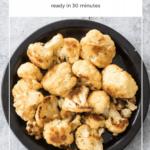 Maple Roasted Cauliflower