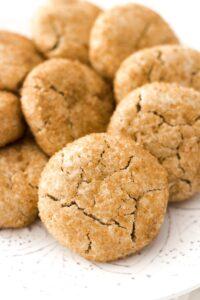 Vegan Gluten-Free Snickerdoodle Cookies