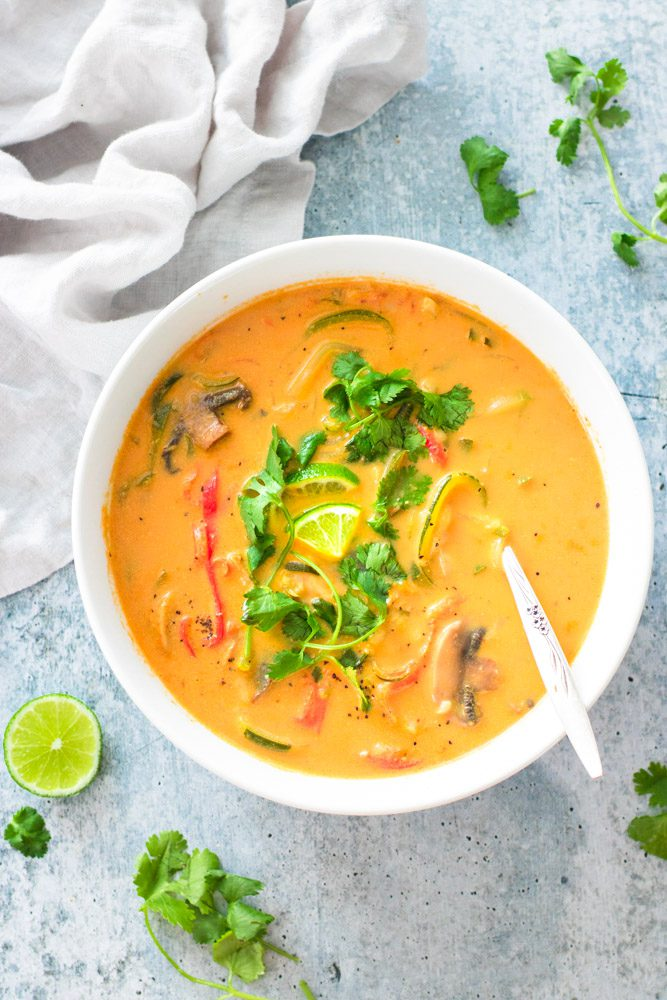 Vegan Thai Curry Soup Recipe