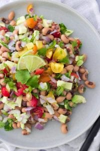 Black-Eyed Pea Avocado Salsa
