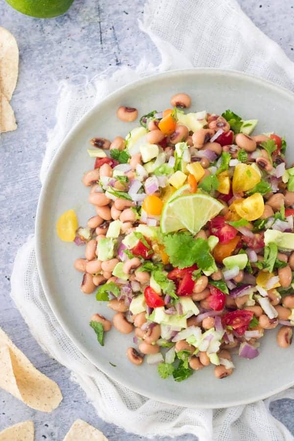 Vegan Black-Eyed Pea Dip