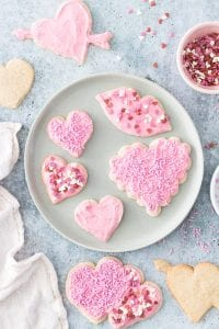 Vegan and Gluten-Free Valentine's Day Cookies (refined sugar-free)
