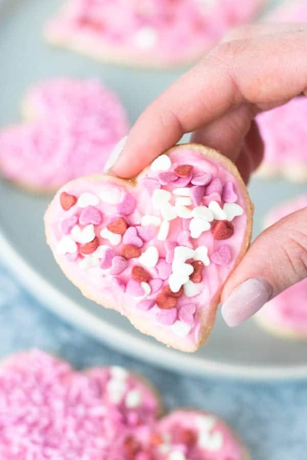 Vegan Gluten Free Valentine's Day Cookies