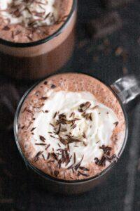 Easy Blender Hot Chocolate