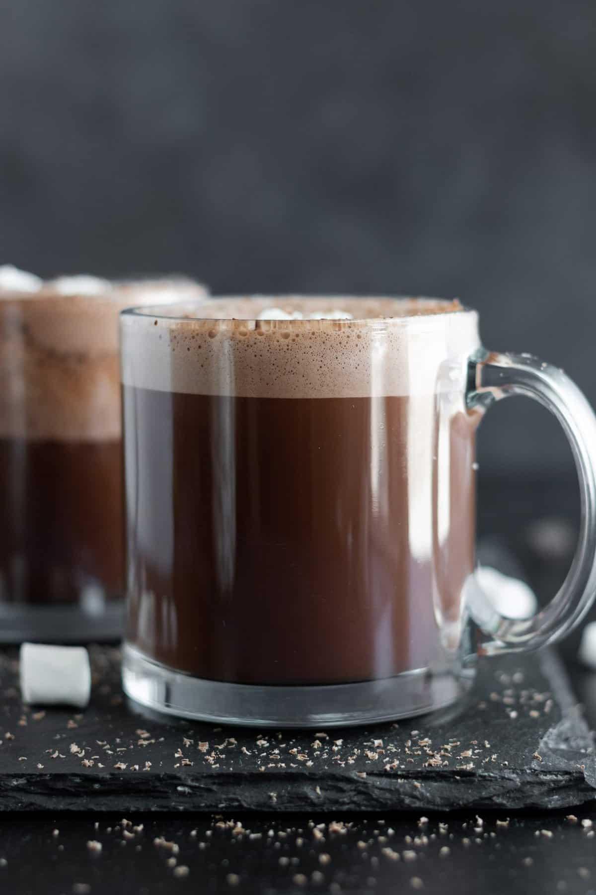 Vegan Paleo Blender Hot Chocolate
