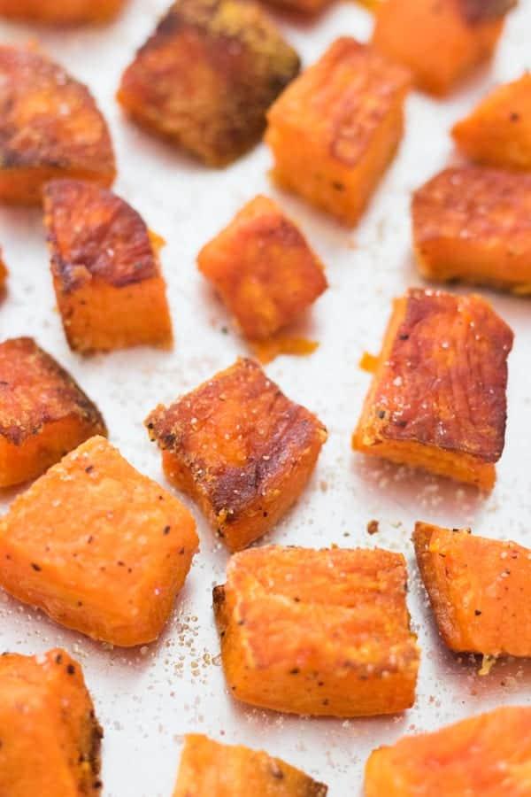 Perfectly Roasted Sweet Potatoes