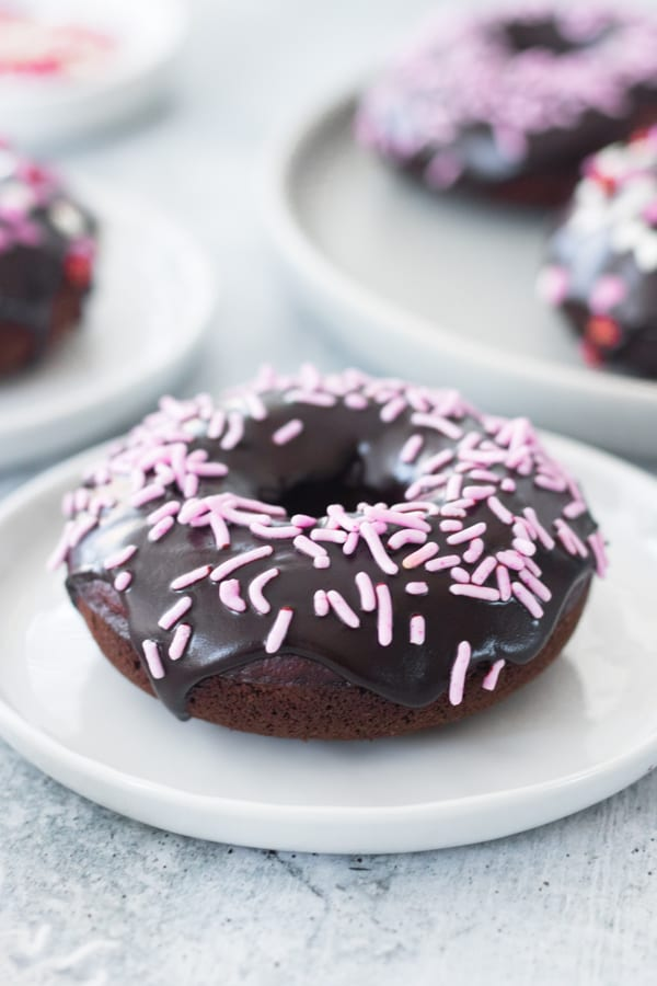 Baked Healthy Chocolate Donut Recipe