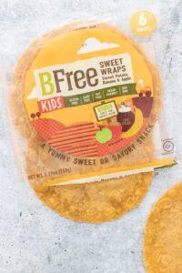 BFree Foods Kids Sweet Wraps