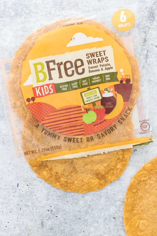 BFree Foods Kids Sweet Wraps