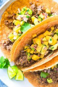 Mushroom Walnut Tacos