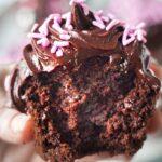 Vegan Chocolate Sweet Potato Cupcakes