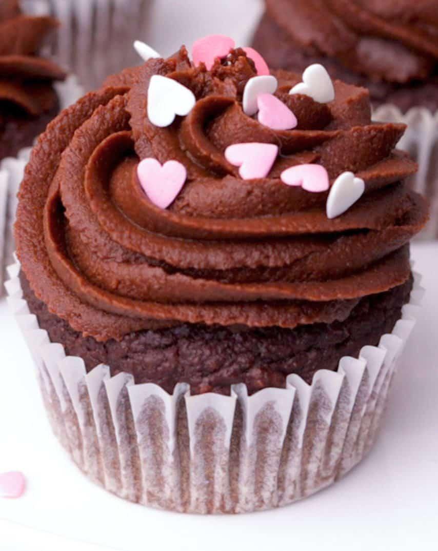 Healthy Chocolate Cupcake Recipe