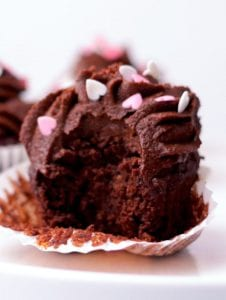 The Best Refined Sugar-Free Chocolate Cupcakes