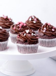 Chocolate Sweet Potato Cupcakes Vegan