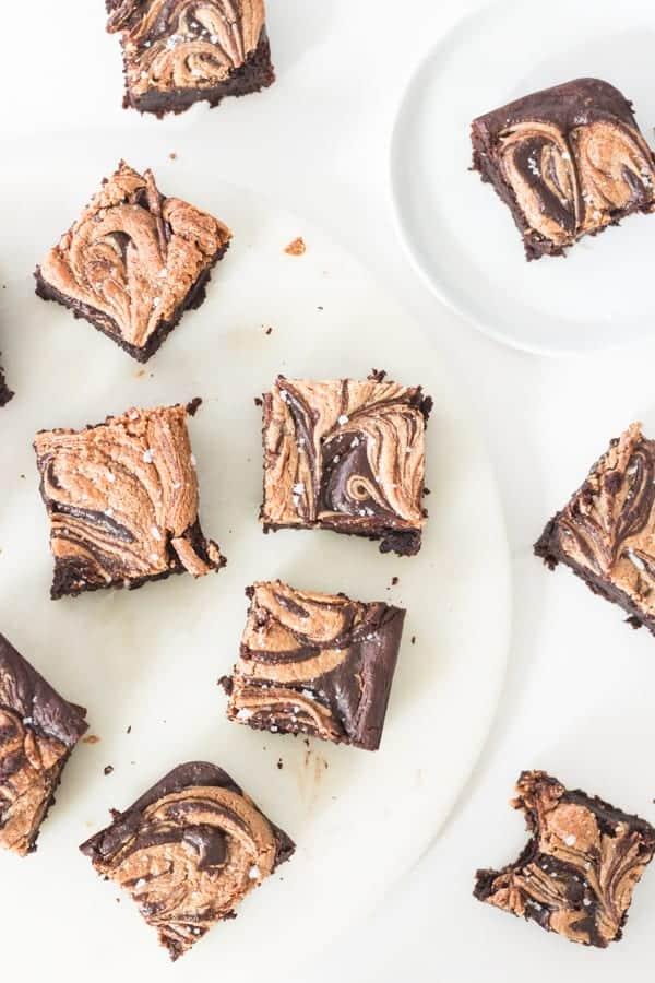 Fudgy Sweet Potato Brownies Vegan